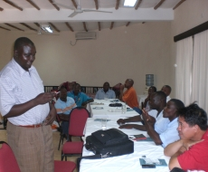 KWS Corporal Chuma participates in workshop