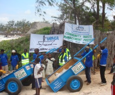 WMA clean the beaches