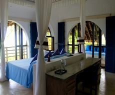 main bedroom overlooking the ocean
